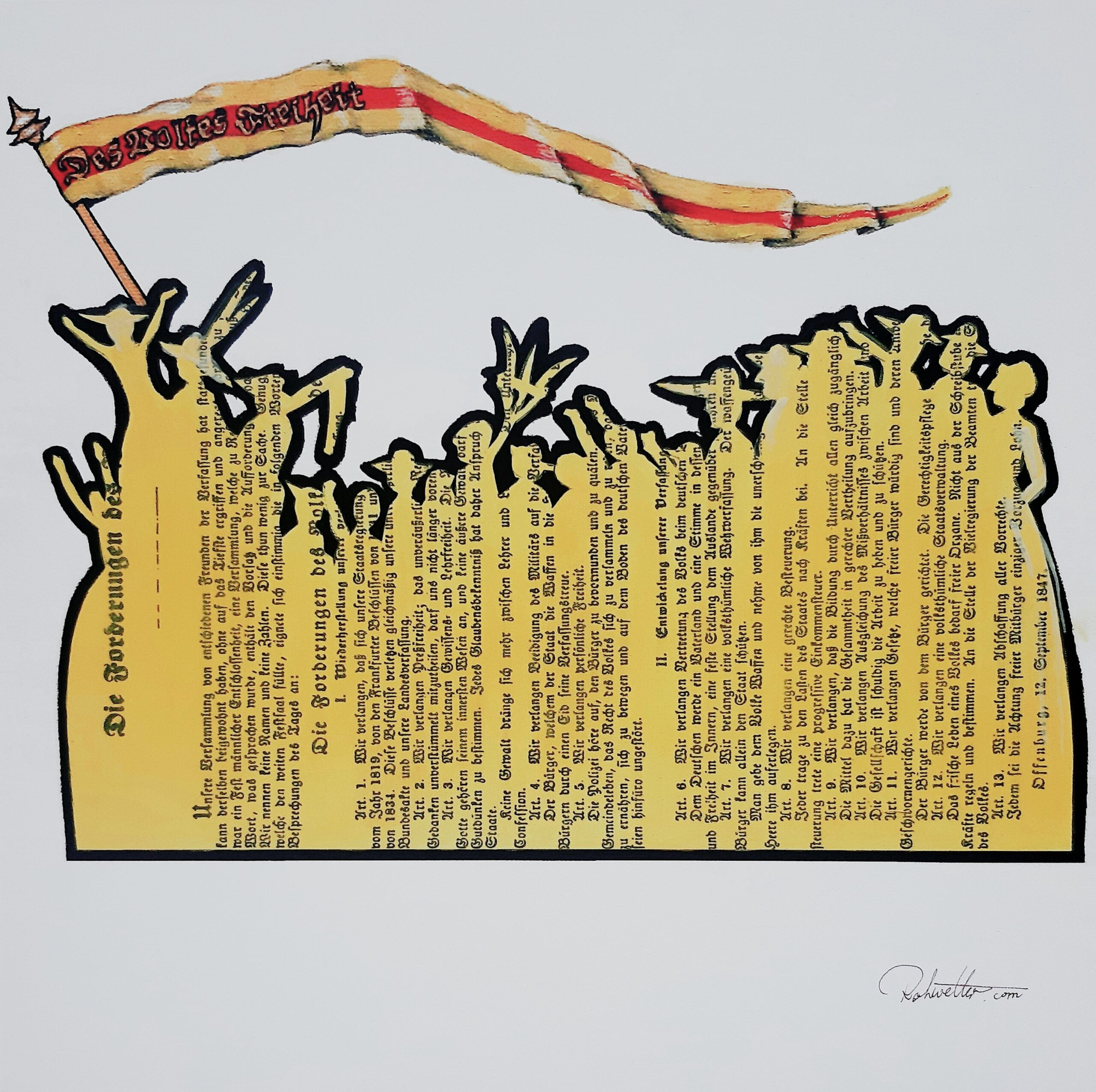 The People's Liberty – Des Volkes Freiheit € 440